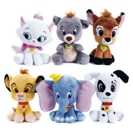 Disney Big Head Classtic Characters Soft Doll Cartoon Stuffed Plush Toys